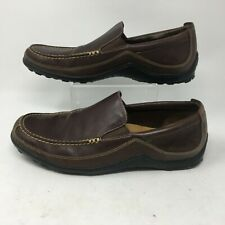 Cole Haan Mens Loafers Slip On Leather Casual Comfort Shoes Round Toe Brown 11 M
