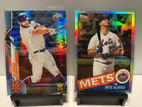 PETE ALONSO ROOKIE CUP PRISM REFRACTOR LOT 2020 TOPPS CHROME ROY 🔥📈