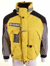 COLMAR Mens Windbreaker Jacket Size 42 XL Yellow Nylon  BF05