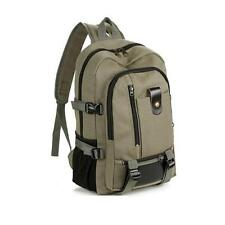 Vintage Womens Mens Canvas Backpack Travel Rucksack Satchel Hiking Shoulder Bag