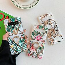 Flower Ring Stand Holder Case Cover For Samsung Galaxy S8 S9 S10 Plus Note 10+