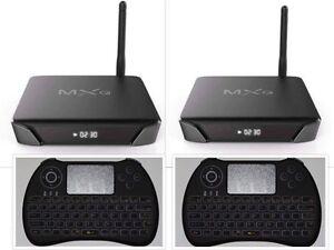 Authorized OEM Seller G10SX Android Future TV 2 Quad Core Smart Box & H9 Remote
