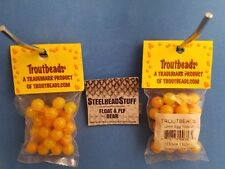 Troutbeads Egg Yolk 10mm Trout Bead Egg Steelhead $2.50 Us Combined Ship*