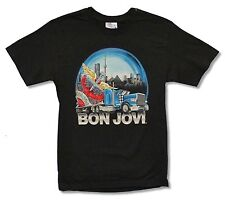 "BON JOVI ""TRUCK TOUR CANADA"" BLACK T-SHIRT NEW OFFICIAL JON ADULT SMALL"
