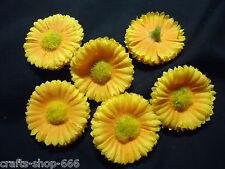 6 Sonnenblumen  Kornblumen  Blumen  Streuelemente Tischdeko Streudeko Basteln