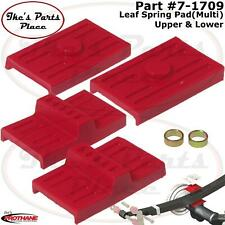 Prothane 7-1709 Rear Multi Leaf Spring Pad-Upper&Lower for 70-81 Camaro/Firebird