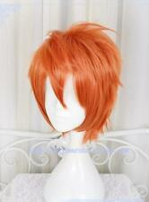 Cosplay Perücke D.Gray-Man Lavi Short Orange Costume Anime Halloween Haar