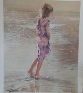 DAYDREAMING  by NICHOLAS ST JOHN ROSSE - unmounted print