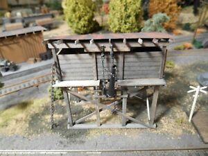 HO Roco Minitanks Custom Detailed Hand Painted Railway Water Tower