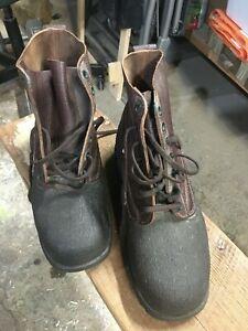 Tretorn Swedish Vintage 1975 Winter Military boots NOS EUR 44? US11? see descrip