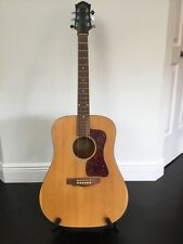 GUILD D4-NT Acoustic Guitar + Seymour Duncan pickup, capo and Fender strap!