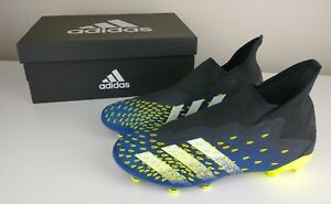 Adidas Predator Freak .3 Blue Core Laceless FG Firm Ground Football Boots BNWB