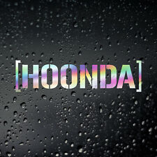 Hoonda Oil Slick JDM Car Sticker - JAP Tuner Honda Civic EK9 EG EF Type R S2000