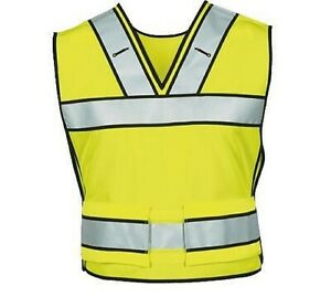 New Blauer 339 Breakaway Safety Vest Sz SM/Med Hi-Vis Yellow EMS Police Type 2
