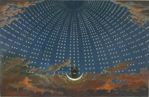 Karl Friedrich Schinkel The Queen of the Night Giclee Paper Print Poster