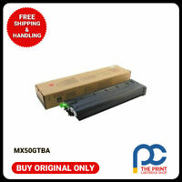 New & Original Sharp MX50GTBA Black Toner cartridge MX4100N 5100N 5000N 5001N