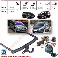 Gancio traino Ford Galaxy / S-max 2006-2015 | + elettrico 7-poli OMOLOGAZIONE