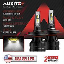 2X AUXITO H4 9003 LED Headlight Bulb High Low Beam for Honda Odyssey 1999-2004