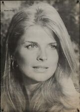 CANDICE BERGEN Vintage 1968 Personality poster 29x42
