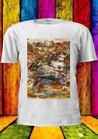 Alice in Wonderland Disney Painting T-shirt Vest Tank Top Men Women Unisex 334