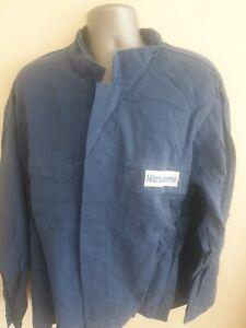 "Ex-rental Welding jacket + bib&braces FR size XL 48"" chest, 42"" waist #1011-1013"