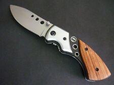 Herbertz Einhandmesser Taschenmesser Messer Alu- Holzgriffschalen 246210