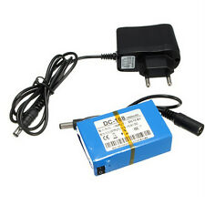 DC-168 DC 12V 1800mAh Battery for CCTV Camera wireless Baby monitor With Plug