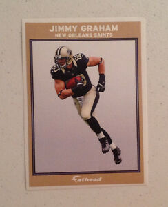 """Jimmy Graham FATHEAD Advertising Panel 6"""" x 4"""" Saints Wall Graphic/Decal Sign"""