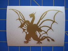 King Ghidorah #4 Vinyl Decal - Sticker 3x4 - Any Color - Godzilla