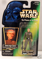 Star Wars Power of the Force Grand Moff Tarkin Figure Green Card Kenner 1996