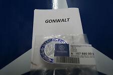 Mercedes Benz Hood Flat Badge Emblem Bonnet 1078800088 Genuine W126 R107
