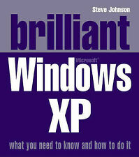 """AS NEW"" Brilliant Windows XP, Johnson, Mr Steve, Book"