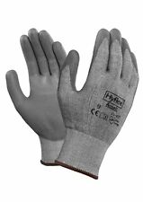 Ansell Hyflex 11-627 Cut Resistant Level 3 PU Palm Coated Gloves Size 9