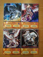 YuGiOh Orica/Anime Finsterer Horus u.Horus, der Schwarzflammendrache LV4,6,8