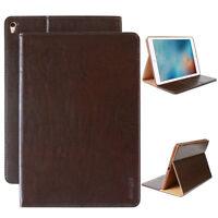 Luxury Tablet Schutzhülle für Apple iPad 2/3/4 Tasche Cover Case Etui braun