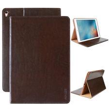 LUXURY Custodia Tablet per Apple iPad 2/3/4 Custodia Cover Case Astuccio Marrone