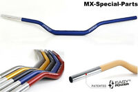 MANILLAR 28,6mm Azul SUZUKI RM 85 # ligero -Estable -gleitschale-Aluminio-