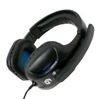 Gaming Headset mit Mic 3.5mm Kopfhörer Mikrofon für PC Laptop Gembird GHS 04