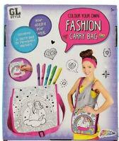 Design & Colour Your Own Rainbow Unicorn Sequin Bag Fashion Tote Handbag 0600