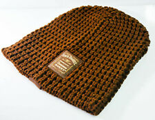 Jack Daniels Laine-Bonnet Beanie Tennessee Honey Full Logo Marron