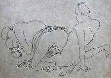 "CURIOSA Shunga 10 estampes très libres 1/190 JAPON NACRE ""AMIS DE L'ART NIPPON"""