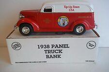 Tip up town, Houghton lake, Mi. 1938 Panel Truck, 4TH year bank.