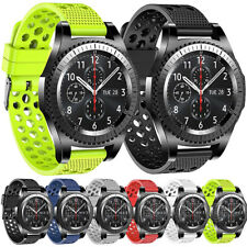 Universal Sports Silicone Rubber Watch Straps Replacement Band 20 22mm Quickfit