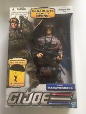 GI Joe Ultimate 12 Inch Army Paratrooper PARACHUTE RARE NEW
