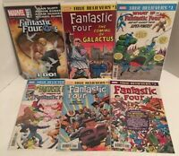 Fantastic Four True Believers Comic Book Lot NM Bagged And Backed