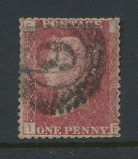 Penny Rojo Londres suburbano Oval número 6... placa 188
