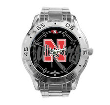 Nebraska Cornhuskers NCAA Stainless Steel Analogue Men's Watch Gift