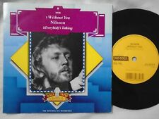 """NILSSON - WITHOUT YOU / EVERYBODY'S TALKIN  - OLD GOLD 7"""""""