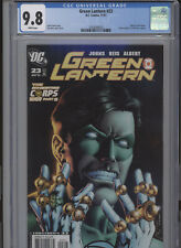 GREEN LANTERN #23 MT 9.8 CGC WHITE PAGES JOHNS STORY REIS COVER AND ART