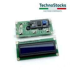 Modulo display LCD 16x2 1602 con modulo Seriale I2C/IIC Blu arduino